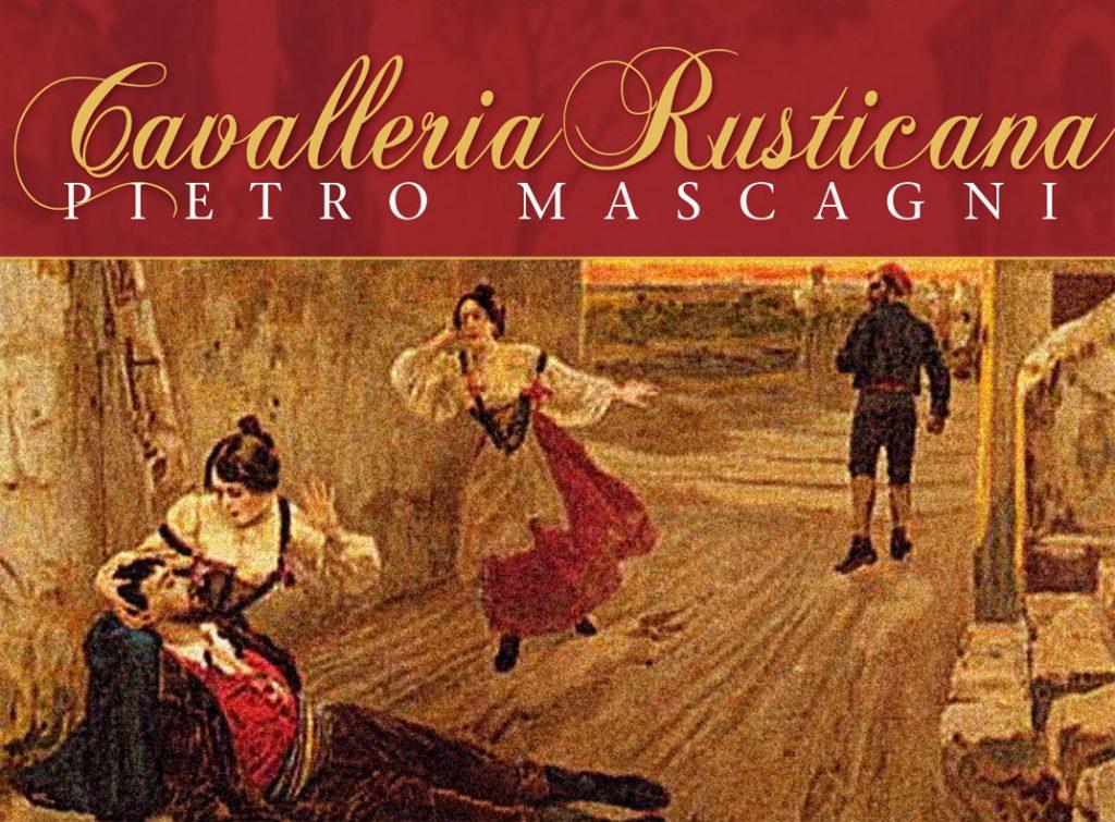 Cavalleria Rusticana Manifesto Dell'opera