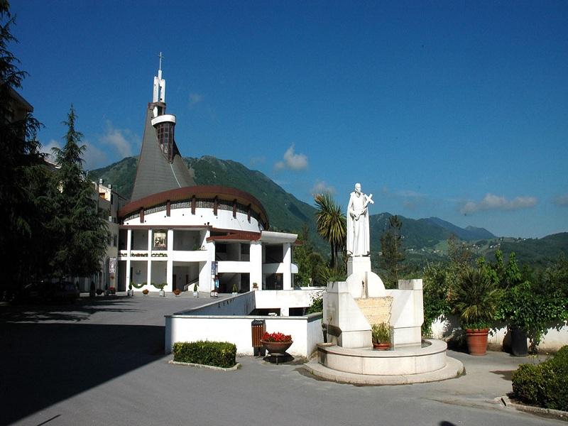 San Gerardo Maiella. Il Santuario a lui dedicato.