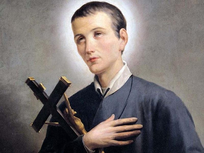 San Gerardo Maiella. Una raffigurazione.