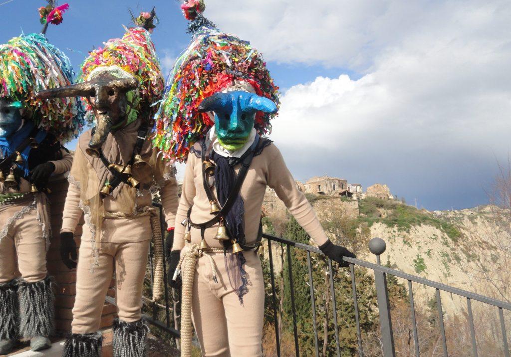 Carnevali Lucani Maschere Cornute