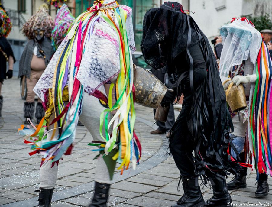 Carnevali Lucani Maschere In Piazza