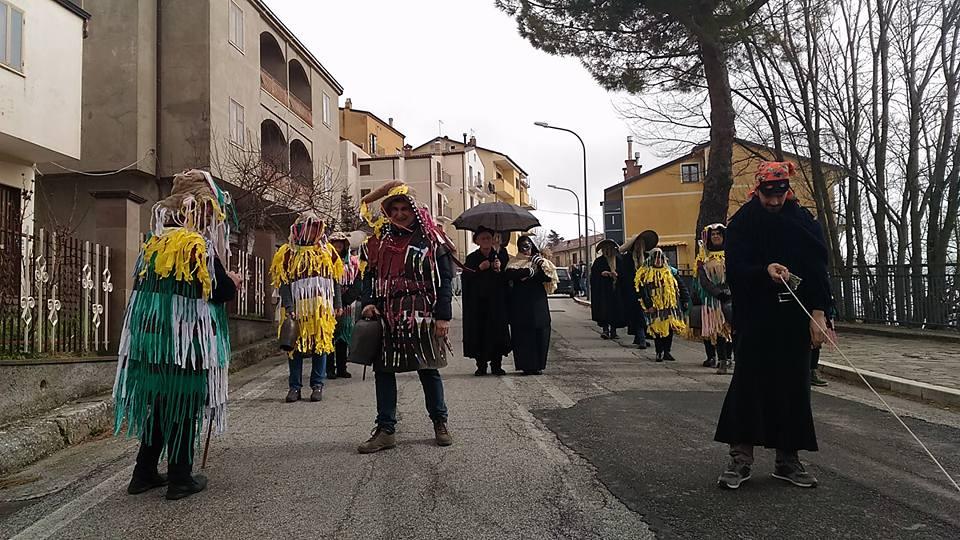 Carnevali Lucani Personaggi Antropologici