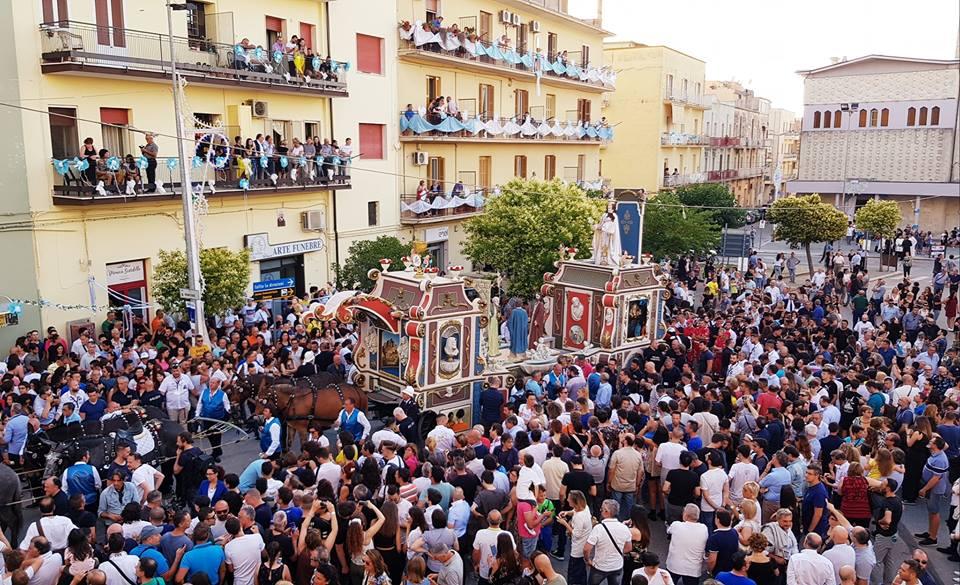 Festa Della Bruna Carro Trionfale