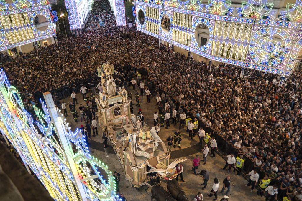 Festa Della Bruna Un Momento Della Processione