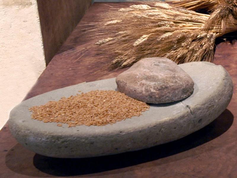 La Terra Del Pane - pietra per macinare il grano