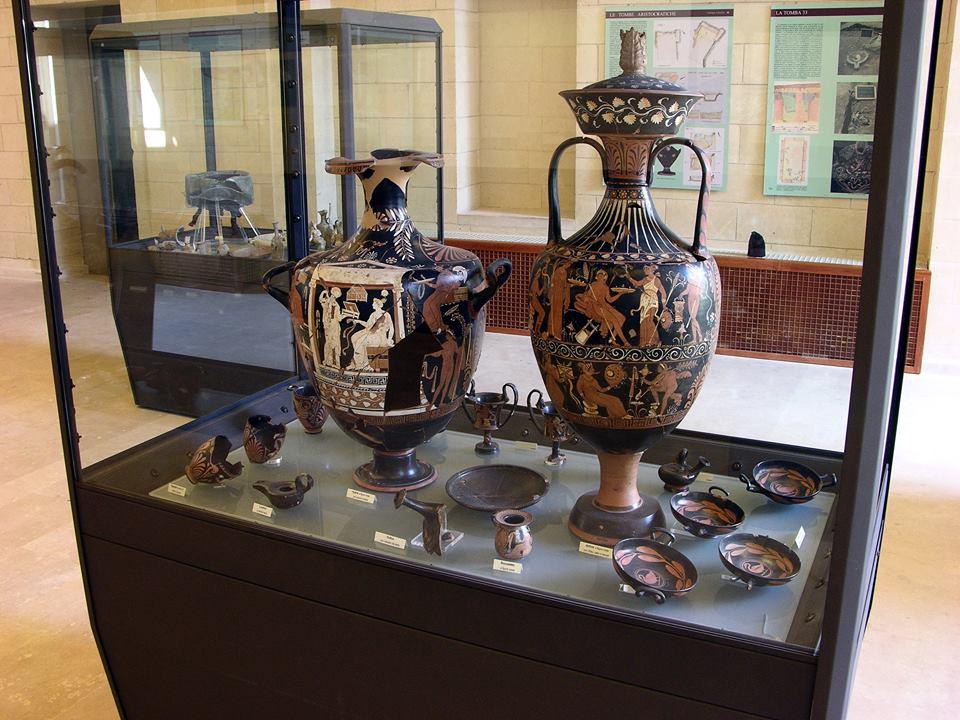 Matera Crotone Reperti Nel Museo Nazionale