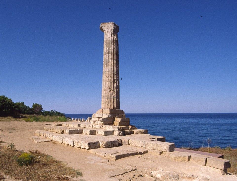Matera Crotone Santuario Di Hera Lacinia