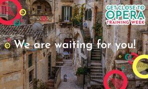 get close to opera- un'immagine di matera sede del progetto
