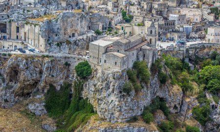 Sassi Di Matera -centro storico di Matera con i Sassi