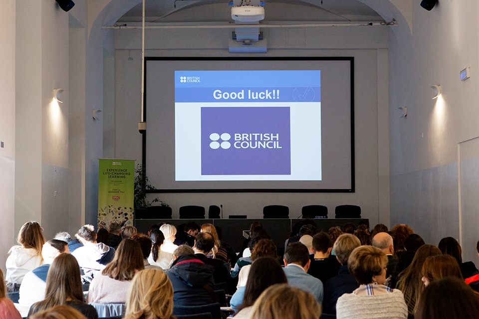 British Council - un momento di incontro