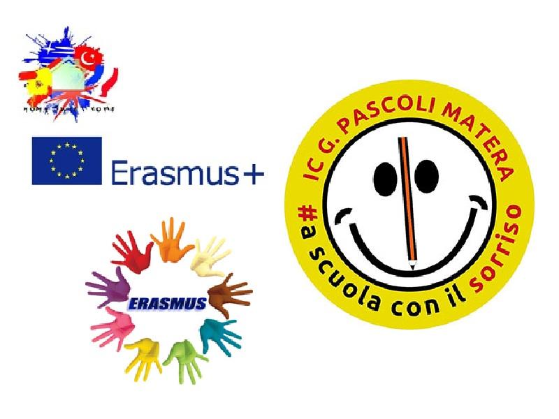 Erasmus a Matera - vari loghi