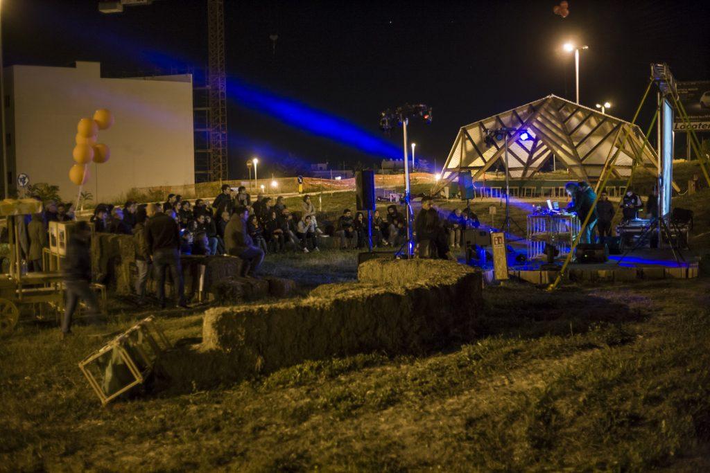 Gardentopia Parco Urbano animato da una festa
