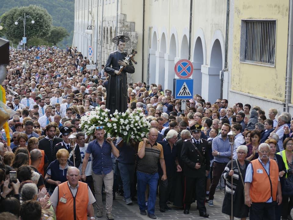 San Gerardo - la processione del santo