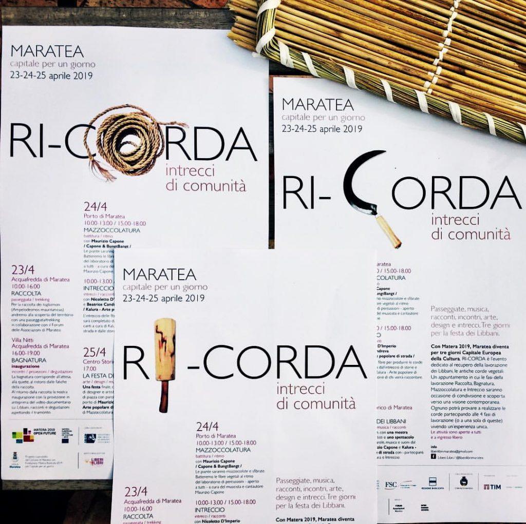 il manifesto dell'evento di maratea