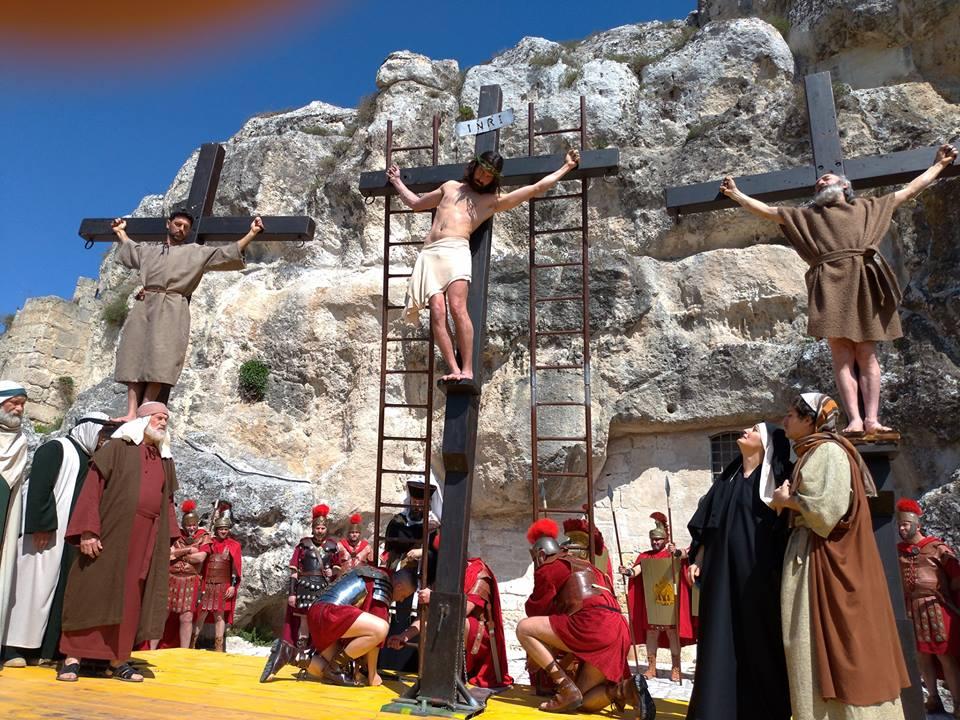 Settimana Santa Matera - la via crucis