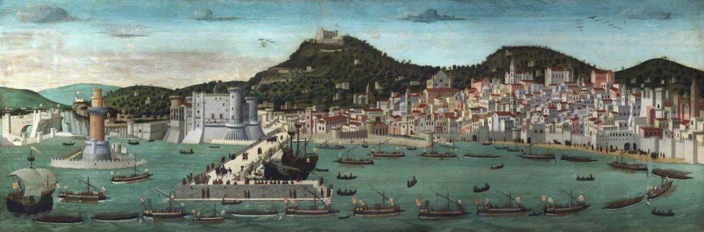 il rinascimento visto da sud - Veduta del golfo di Napoli