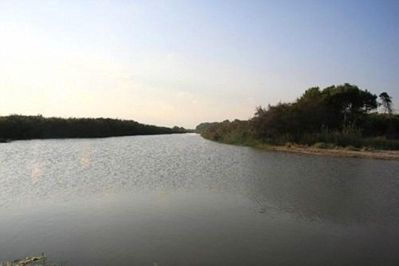 il Bradano - il fiume in piena