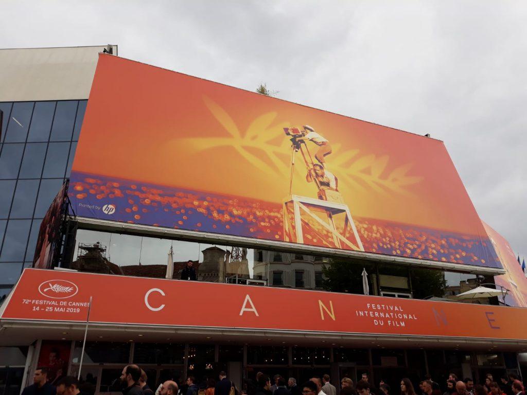 La  Croisette al festival in corso a Cannes in Francia