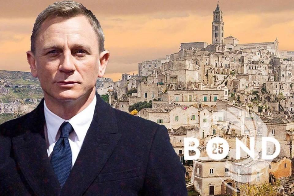 Matera Citta Del Cinema è il nuovo set per la serie di James Bond