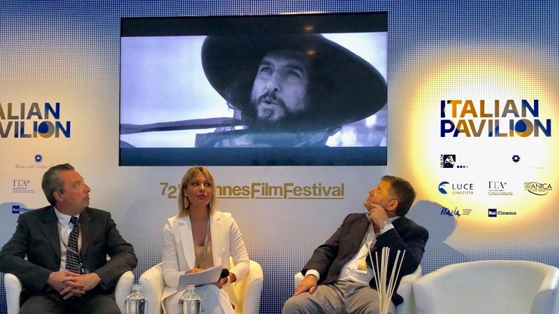 l'italian pavilion dedicato al cinema italiano al festival di Cannes