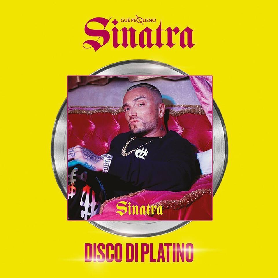 la copertina del disco Sinatra di Gue Pequeno
