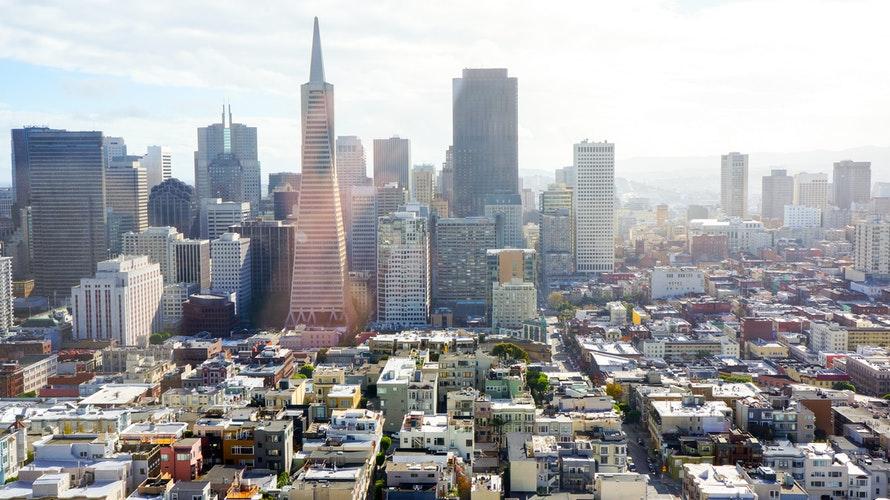 Una veduta panoramica di San Francisco