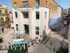Matera Moon Installazione in piazza