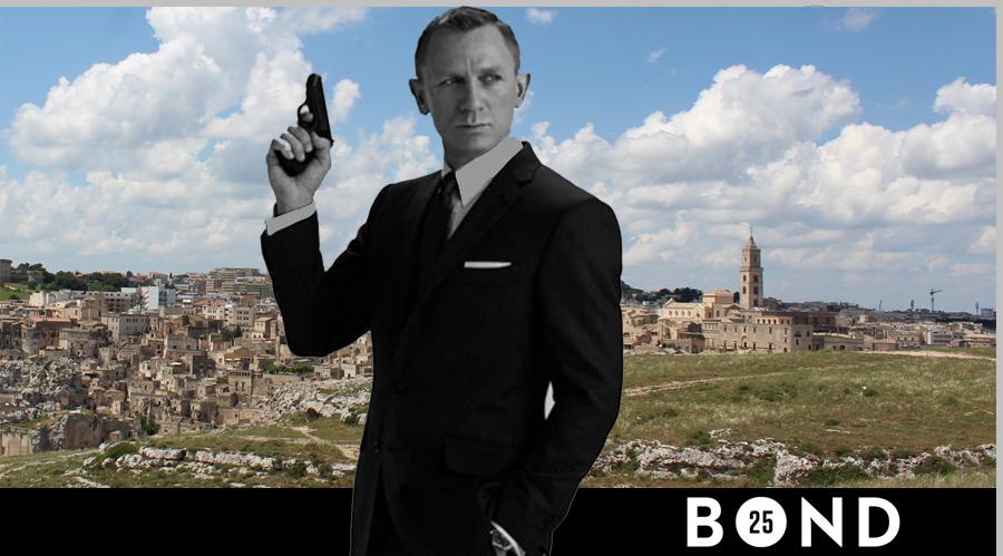 il film su James Bond è in lavorazione a matera