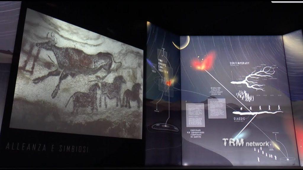 il percorso multimediale della mostra