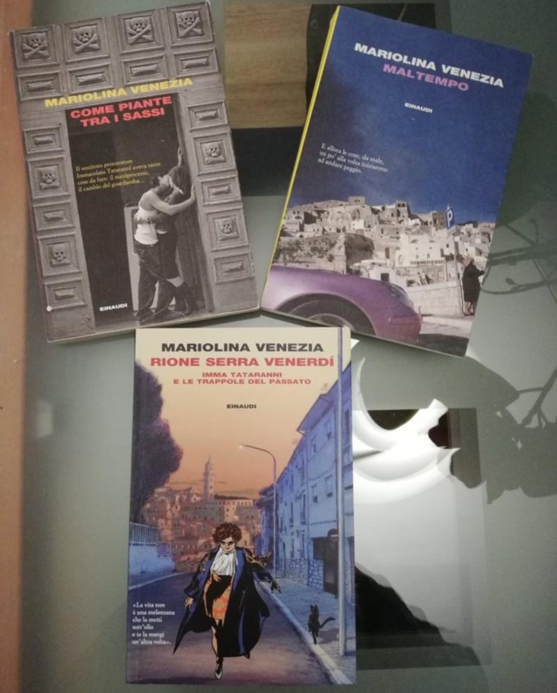 Imma Tataranni - Copertine dei romanzi