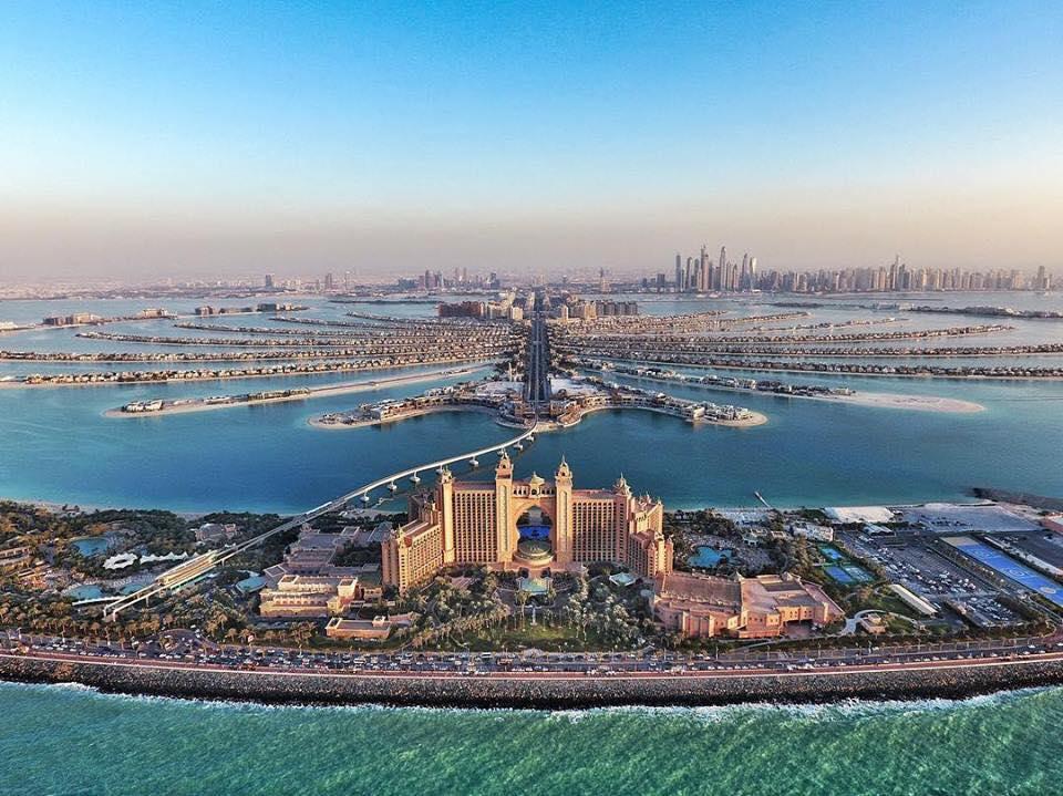 Expo Dubai e il Panorama della città