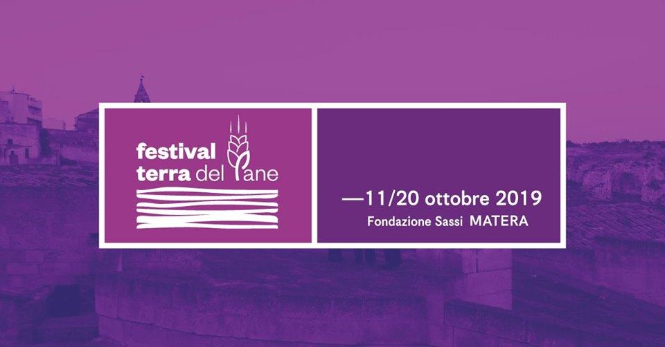 il logo ufficiale del festival Terra Del Pane di Matera