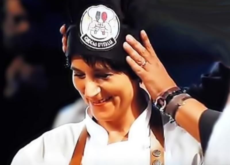 Silvana Felicetta Colucci - Elezione a miglior cuoca d'Italia nella trasmissione di TV8