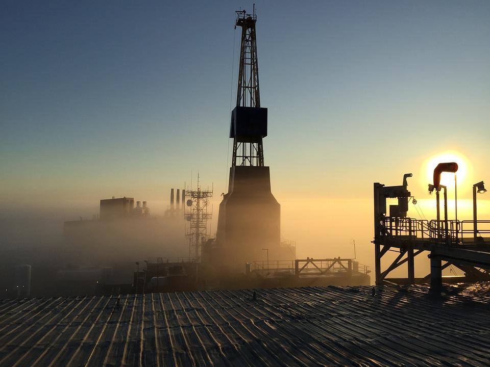 Il Petrolio Impianto di perforazione