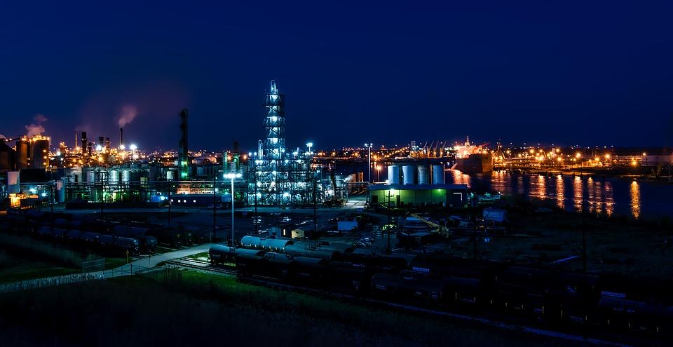 il petrolio in basilicata - raffineria di Petrolio