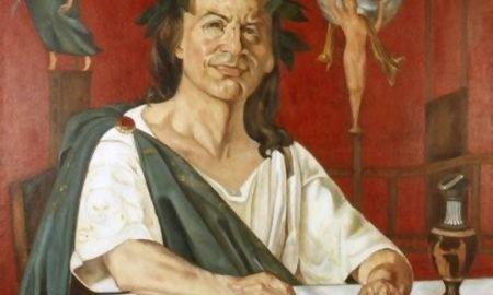 Orazio - dipinto ideale del Poeta