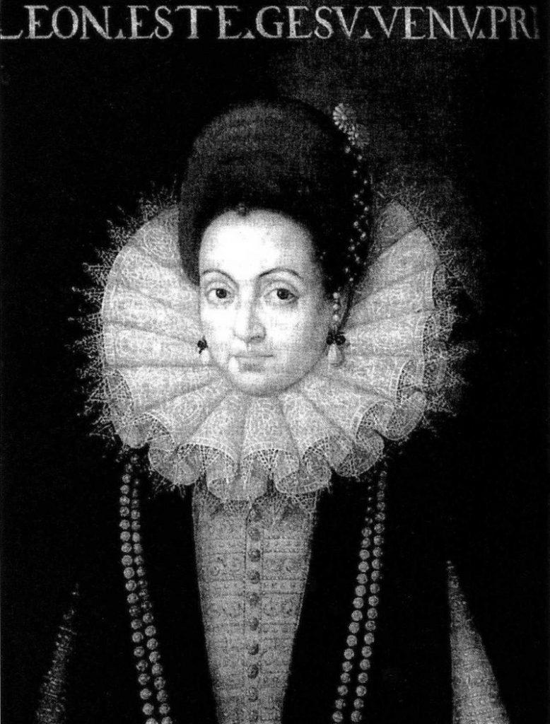 Carlo Gesualdo da Venosa - Eleonora D'este in primo piano
