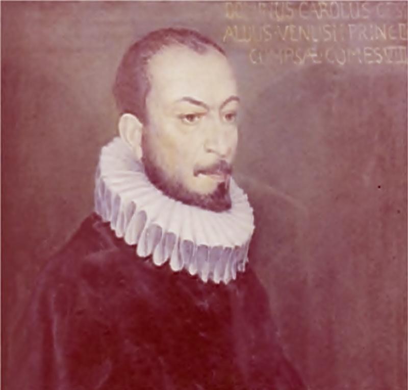 Carlo Gesualdo da Venosa - ritratto a olio di Gesualdo