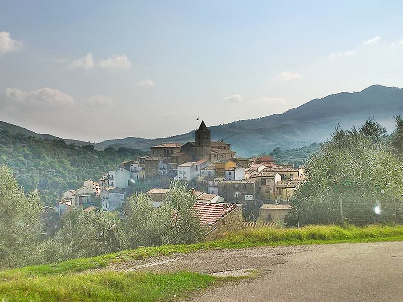 Anton Vidokle - Oliveto Lucano Panorama