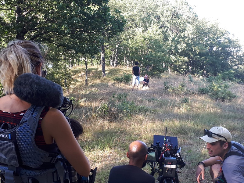 Anton Vidokle - Riprese Film