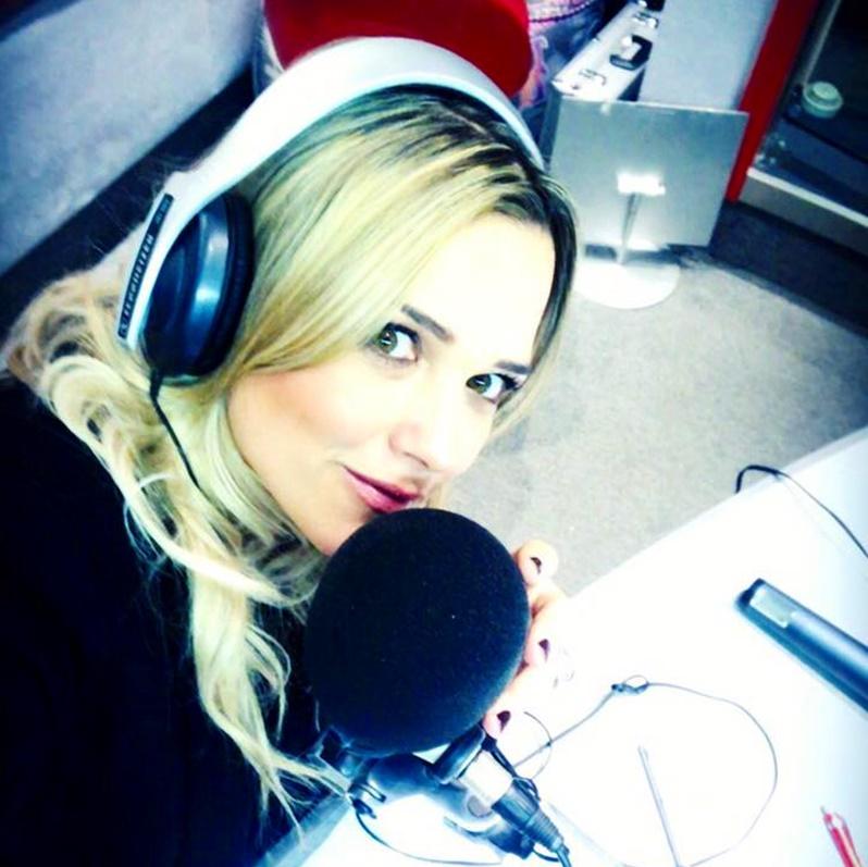 Francesca Barra - Francesca Barra in studio