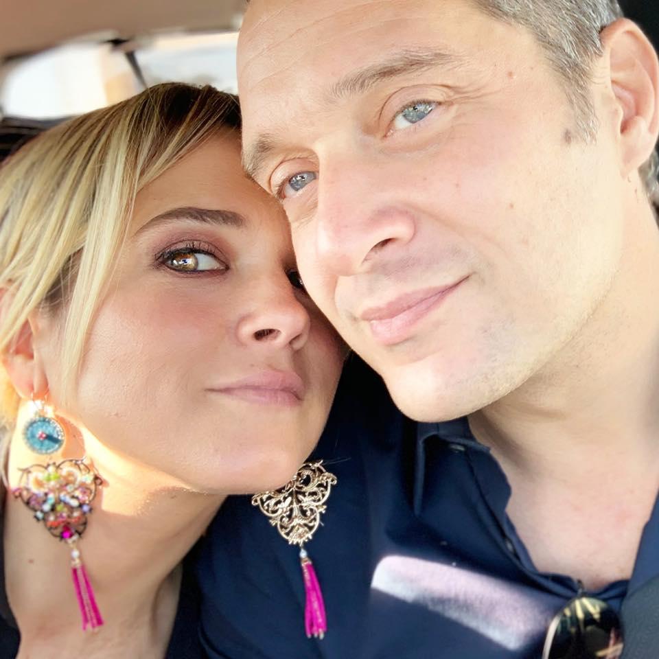 Francesca Barra - Francesca Barra con Claudio Santamaria