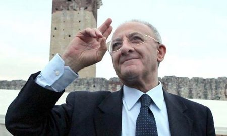 Vincenzo De Luca - De Luca in un'immagine recente