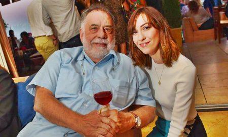 Gia Coppola - Coppola Con Il Nonno Francis