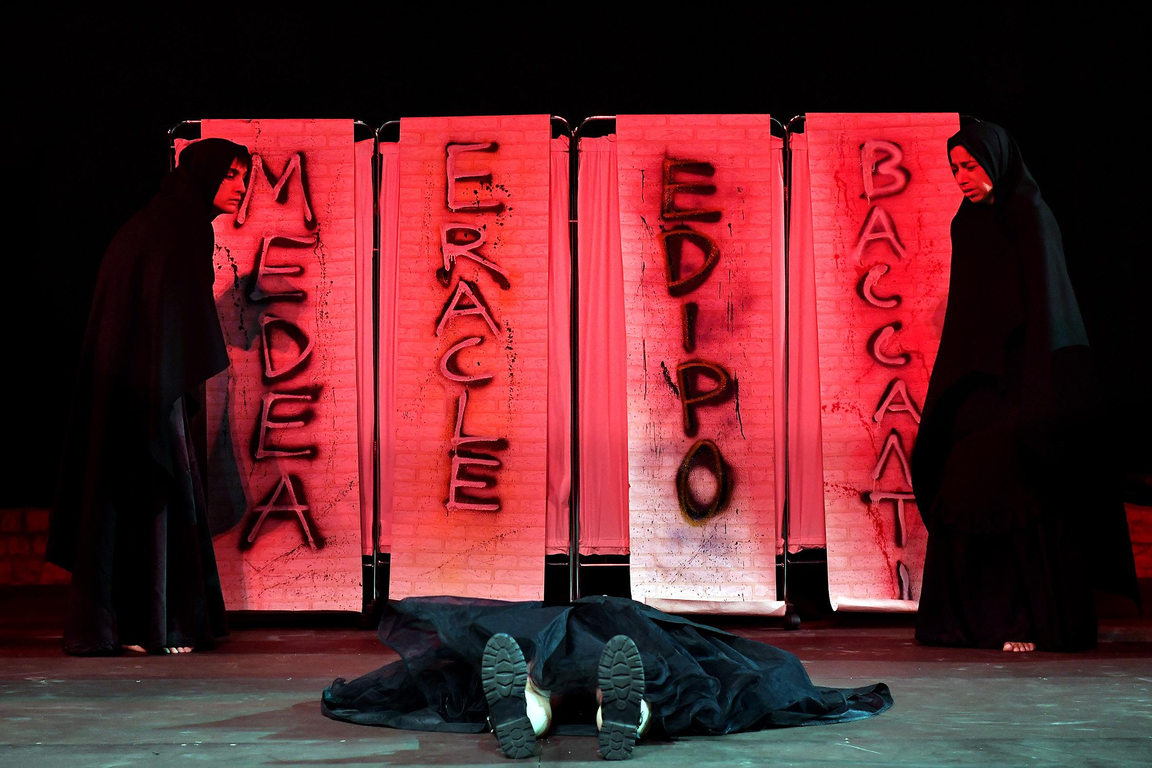 63° Spoleto Festival Dei 2mondi, Spettacolo Concerto I Messaggeri Regia Emma Dante