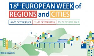 Locandina Dell'european Week Region And Cities