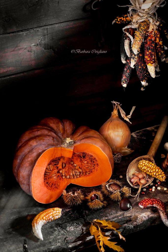 Barbara Cirigliano - foto di zucche e frutti