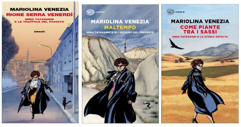 Mariolina Venezia - Copertine Dei Romanzi della Venezia