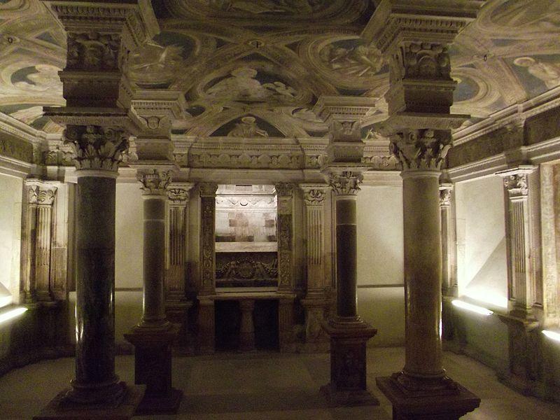 La cattedrale di Acerenza - foto della Cripta