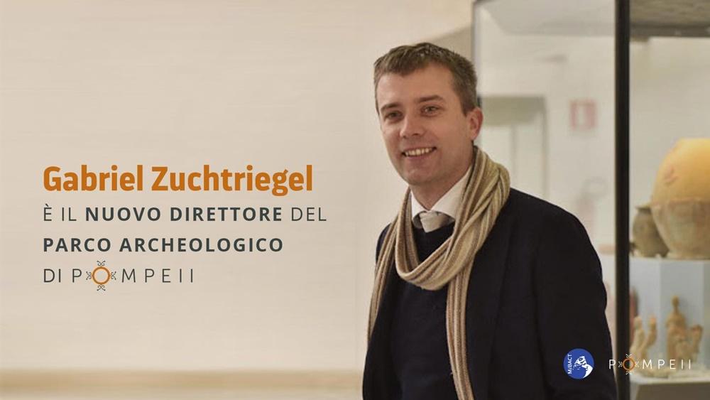 Gabriel Zuchtriegel - foto del neo direttore